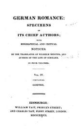 Goethe, Wilhelm Meister's travels