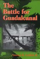 The Battle for Guadalcanal PDF
