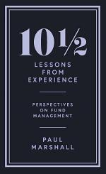 101⁄2 Lessons from Experience