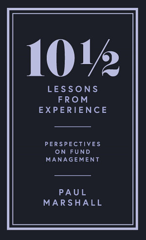 101   2 Lessons from Experience