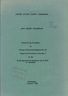 Acid Grade Fluorspar