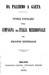Da Palermo a Gaeta: storia popolare della campagna dell'Italia meridionale