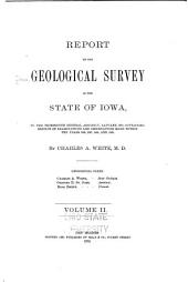 Report on the Geological Survey of the State of Iowa: To the Thirteenth General Assembly, January, 1870, Containing Results of Examinations and Observations Made Within the Years 1866, 1867, 1868, and 1869, Volume 2