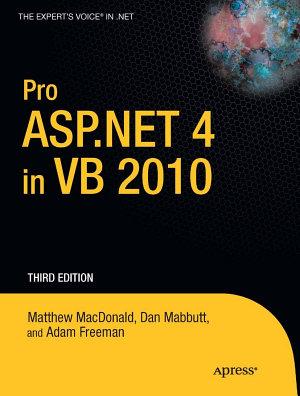 Pro ASP NET 4 in VB 2010