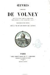 Oeuvres complètes de Volney
