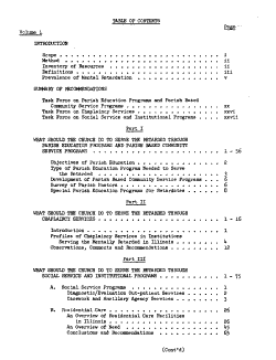A study of ways in which the Lutheran Church bodies in Illinois can meet their responsibility to the mentally retarded PDF