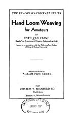 Hand Loom Weaving for Amateurs