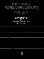 Canon in D: For Advanced Piano