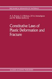Constitutive Laws of Plastic Deformation and Fracture: 19th Canadian Fracture Conference, Ottawa, Ontario, 29–31 May 1989