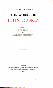The Works of John Ruskin: Volume 13