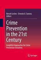 Crime Prevention in the 21st Century PDF
