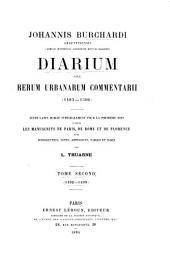 Diarium: 1492-1499