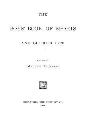 The Boys  Book of Sports