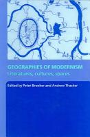 Geographies of Modernism PDF