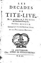 Les decades de Tite-Live: Avec les supplemens de J. Freinshemius; nouvellement augmentees d'un abrege chronologique: mises en franc̜ois par P. Du-Ryer, de l'Academie Franc̜oise ...