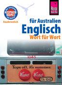 Reise Know-How Sprachführer Englisch für Australien - Wort für Wort: Kauderwelsch-Band 150