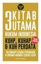 3 Kitab Utama Hukum Indonesia