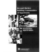 Beyond Shelter: Building Communities of Opportunity