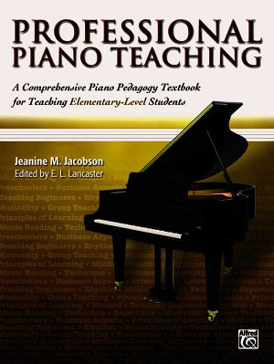 Professional Piano Teaching PDF
