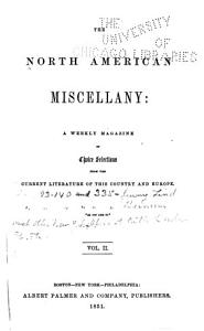 The North American Miscellany Book