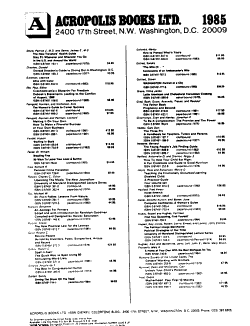 The Publishers  Trade List Annual PDF