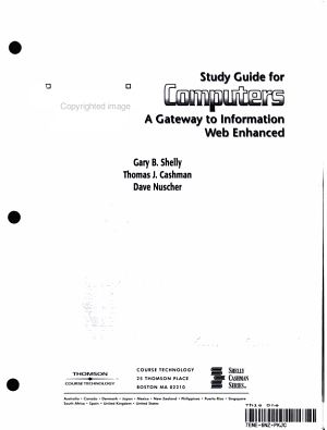 Disc Computers 2005 Study Gde PDF