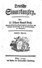 Hauptsacht. d. Mikrofiche-Ausg.: Teutsche Staatskanzley: Band 89