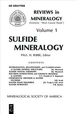 Sulfide Mineralogy