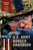 Download Ranger Handbook  Large Format Edition  Book