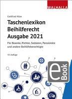 Taschenlexikon Beihilferecht Ausgabe 2021 PDF
