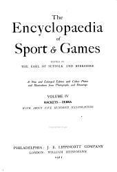 The Encyclopaedia of Sport & Games: Volume 4