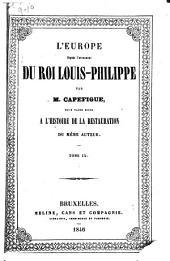 L'Europe depuis l'avénement du roi Louis-Philippe: Volumes9à10