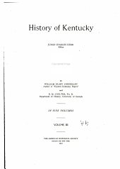 History of Kentucky: Volume 3