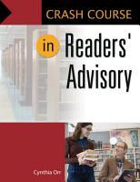Crash Course in Readers  Advisory PDF
