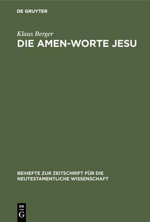 Die Amen Worte Jesu PDF
