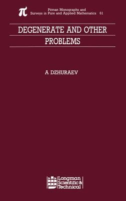 Degenerate and Other Problems PDF