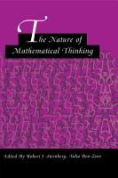 The Nature of Mathematical Thinking PDF