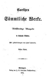 Wilhelm Meister II. Wahlverwandtschaften