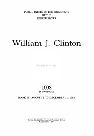 William J  Clinton  1993 bk  2 August 1 to December 31  1993 PDF