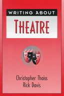 Writing about Theatre