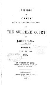 Louisiana Reports: Cases Argued and Determined in the Supreme Court of Louisiana, Volume 5, Issue 56