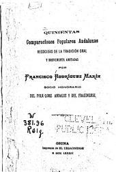 Quinientas comparaciones populares andaluzas
