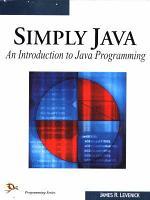 Simply Java PDF