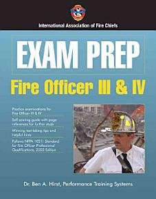 Fire Officer III and IV PDF