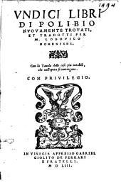 Undici libri di Polibio ...: VIII - XVII