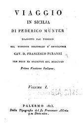 Viaggio in Sicilia di Federico Münter