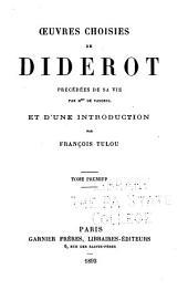 Œuvres choisies de Diderot: Volume1