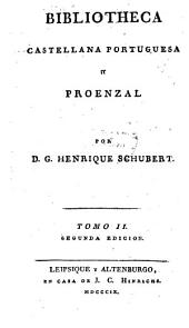 Bibliotheca castellana portuguesa y proenzal