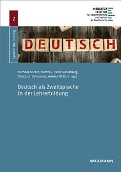 Deutsch als Zweitsprache in der Lehrerbildung PDF