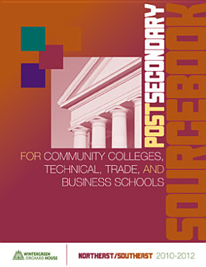 Postsecondary Sourcebook for Community Colleges  Technical  Trade  and Business Schools Northeast Southeast Edition PDF